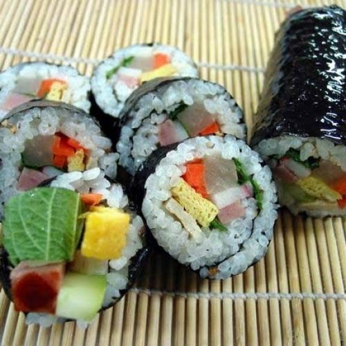 ซูชิเจ เมนูซูชิเจ ง่ายๆ วิธีทำ ข้าวห่อสาหร่ายซูชิเจ