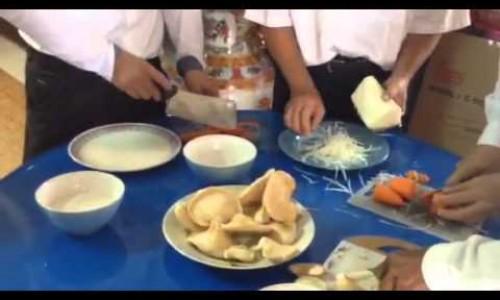 สอนวิธีทำอาหารเจ แบบง่ายๆ เมนู เป๊าะเปี๊ยะ