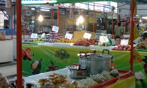 ร้านอาหารเจ ตลาดสด อบต.คลอง3 ธํญบุรี ร้านอาหารเจจังหวัดปทุมธานี