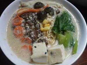 กินเจ อาหารเจ สูตรอาหารเจ เมนูอาหารเจ อาหารเพื่อสุขภาพ ราเมงสูตรเจ 10